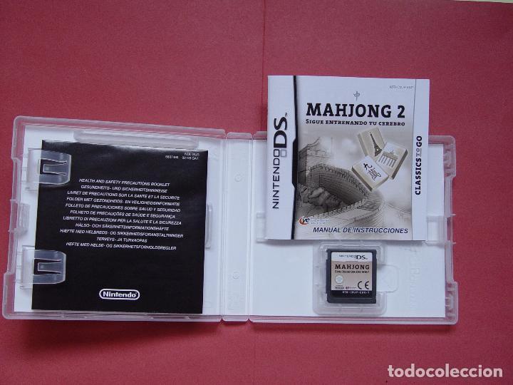 Videojuegos y Consolas: Juego Nintendo DS (MAHJONG 2) ¡Original! ¡Completo! - Foto 4 - 70489917