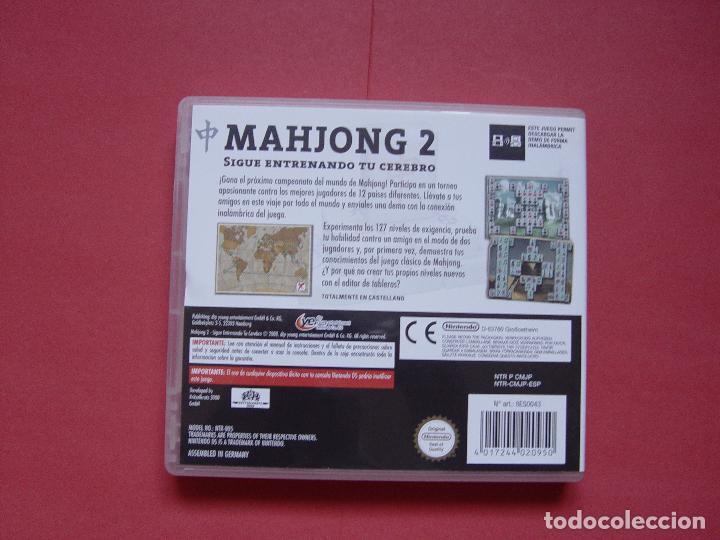 Videojuegos y Consolas: Juego Nintendo DS (MAHJONG 2) ¡Original! ¡Completo! - Foto 5 - 70489917