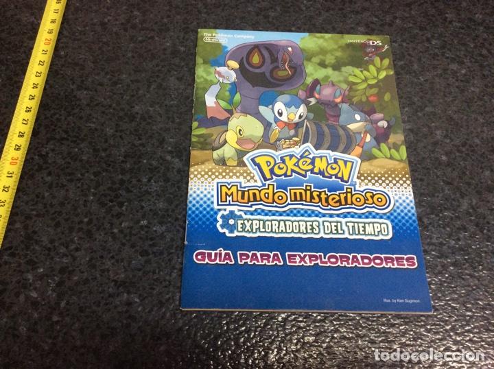 POKEMON, GUIA MUNDO MISTERIOSO, EXPLORADORES DEL TIEMPO, NINTENDO DS (Juguetes - Videojuegos y Consolas - Nintendo - DS)
