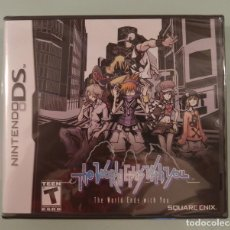 Videojuegos y Consolas: THE WORLD ENDS WITH YOU PARA DS VERSIÓN USA NUEVO PRECINTADO. Lote 71071965