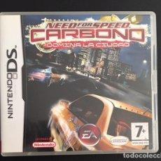 Videojuegos y Consolas: JUEGO NINTENDO DS NEED FOR SPEED CARBONO DOMINA LA CIUDAD. Lote 72278843