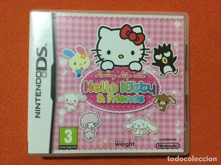 HELLO KITTY & FRIENDS NDS - NINTENDO DS - LOVING LIFE WITH - SEGA TOYS (Juguetes - Videojuegos y Consolas - Nintendo - DS)