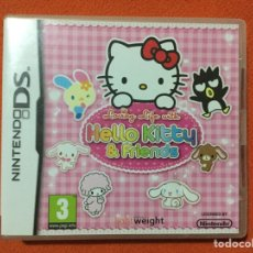 Videojuegos y Consolas: HELLO KITTY & FRIENDS NDS - NINTENDO DS - LOVING LIFE WITH - SEGA TOYS. Lote 72421022