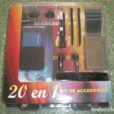 Videojuegos y Consolas: NDS KIT DE ACCESORIOS 20 EN 1 NINTENDO DS. Lote 72918699