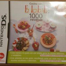 Videojuegos y Consolas: COCINA CON ELLE À TABLE: 1000 RECETAS NINTENDO DS. Lote 73591593