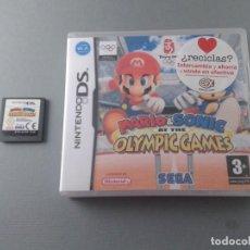 Videojuegos y Consolas: JUEGO NINTENDO DS MARIO & SONIC AT THE OLYMPIC GAMES MAGNIFICO!!! R5447. Lote 73881311