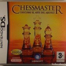 Videojuegos y Consolas: JUEGO NINTENDO DS NDS CHESSMASTER DESCUBRE EL ARTE DEL AJEDREZ UBISOFT 2007 JUEGO DE MESA. Lote 74198971