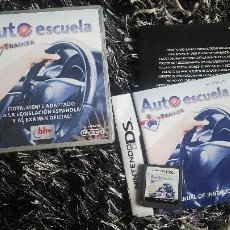 Videojuegos y Consolas: AUTO ESCUELA TRAINER - NINTENDO DS. Lote 74378259