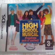 Videojuegos y Consolas: HIGH SCHOOL MUSICAL PARA LA CONSOLA NINTENDO DS . Lote 75213911