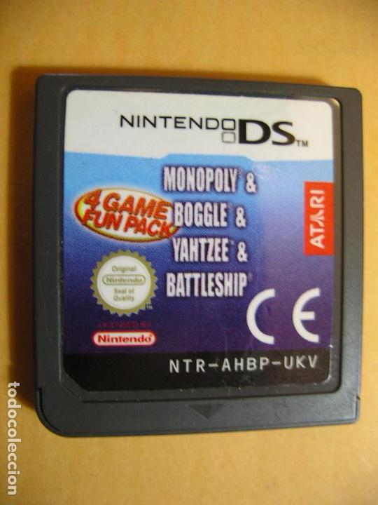 4 Game Fun Pack Monopoly Boogle Yahtzee Bat Buy Video Games And Consoles Nintendo Ds At Todocoleccion 75492211