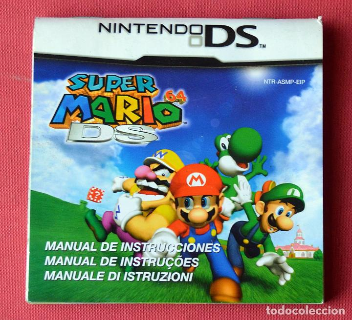 Super mario 64 ds manual