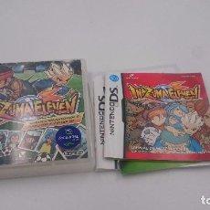 Videojuegos y Consolas: JUEGO INAZUMA ELEVEN NINTENDO DS DSI XL 2DS 3DS PAL ESPAÑA.BUEN ESTADO.. Lote 76709023