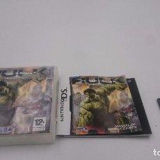 Videojuegos y Consolas: EL INCREIBLE HULK EL VIDEOJUEGO NINTENDO DS DSI XL 2DS 3DS PAL ESPAÑA. Lote 76710475