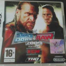 Videojuegos y Consolas: SMACKDOWN VS RAW 2009 NINTENDO DS. Lote 76765554