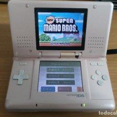Videojuegos y Consolas: NINTENDO DS ROSA PINK PRIMER MODELO VER FOTOS Y DESCRIPCION. Lote 77240725