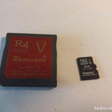 Videojuegos y Consolas: CARTUCHO R4I SDHC + MINI SD 4 GB , LLENA DE JUEGOS - NINTENDO DS LITE. Lote 79046389