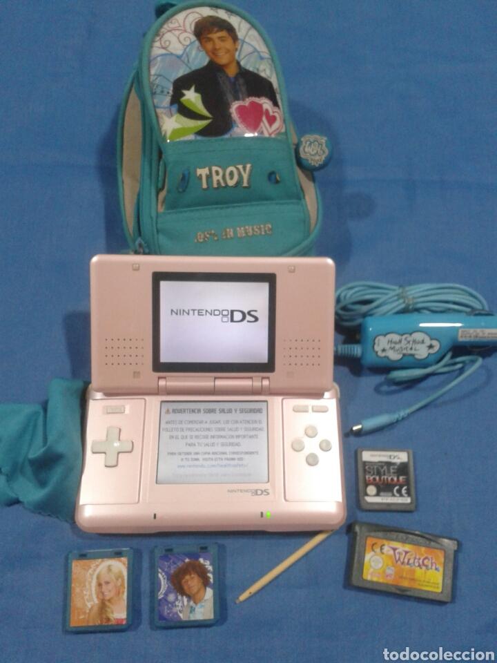 Consola Nintendo Ds Con Funda 2 Juegos Cargado Comprar
