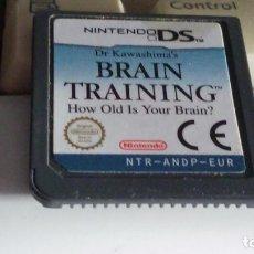 Videojuegos y Consolas: BRAIN TRAINING NINTENDO DS. Lote 79877469