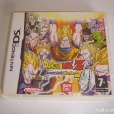 Videojuegos y Consolas: NINTENDO DS - DRAGON BALL Z SUPERSONIC WARRIORS 2. COMPLETO, PAL ESP. Lote 82476992
