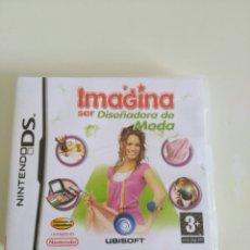 Videojuegos y Consolas: IMAGINA SER DISEÑADORA DE MODA NINTENDO.. Lote 83276335