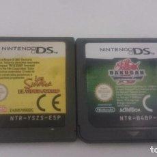 Videojuegos y Consolas: PACK:LOS SIMPSONS EL VIDEOJUEGO + BAKUGAN PAL ESPAÑA NINTENDO DS 2DS 3DS. Lote 84152152