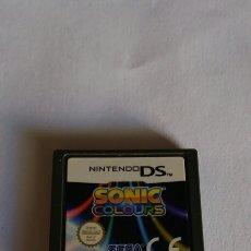 Videojuegos y Consolas: SONIC COLOURS NINTENDO DS. Lote 85285823