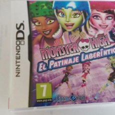 Videojuegos y Consolas: MONSTER HIGH - EL PATINAJE LABERINTICO -NINTENDO DS. Lote 86564320
