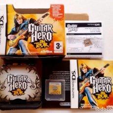Videojuegos y Consolas: NINTENDO DS GUITAR HERO ON TOUR COMO NUEVO. Lote 91227459
