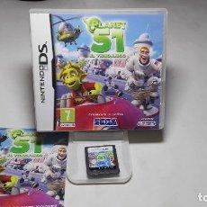 Videojuegos y Consolas: PLANET 51 ( NINTENDO DS-2DS-3DS- PAL- ESP) CA. Lote 88916456