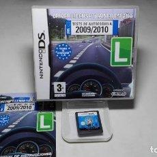 Videojuegos y Consolas: DRIVE LICENSE TRAINER ( NINTENDO DS-2DS-3DS- PAL- ESP) CA. Lote 88916816