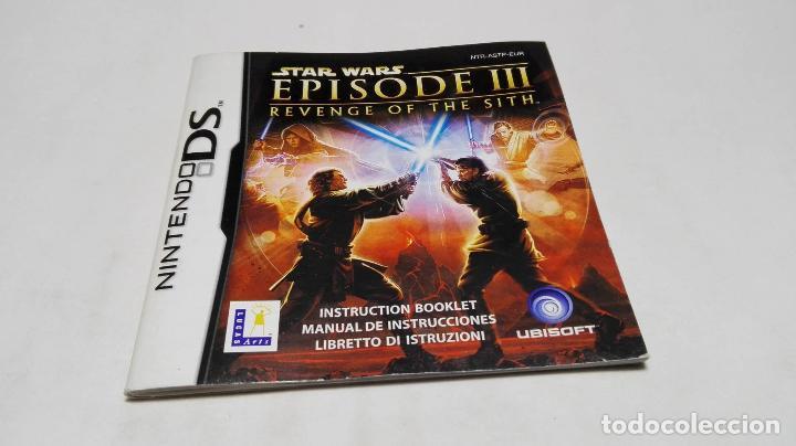 Manual De Instrucciones Star Wars Episode 3 N Buy Video Games And Consoles Nintendo Ds At Todocoleccion 88917012