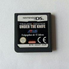 Videojuegos y Consolas: TRAUMA CENTER UNDER THE KNIFE NINTENDO DS. Lote 89446827