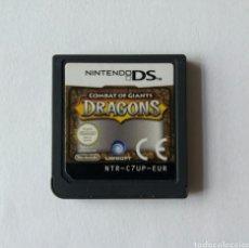 Videojuegos y Consolas: DRAGONS COMBAT OF GIANTS NINTENDO DS. Lote 89677032