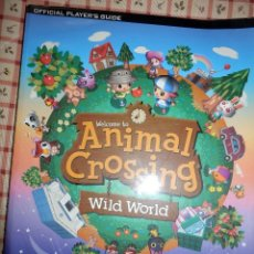 Videojuegos y Consolas: GUIA DE JUEGO OFICIAL ANIMAL CROSSING WILD WORD. Lote 92175430