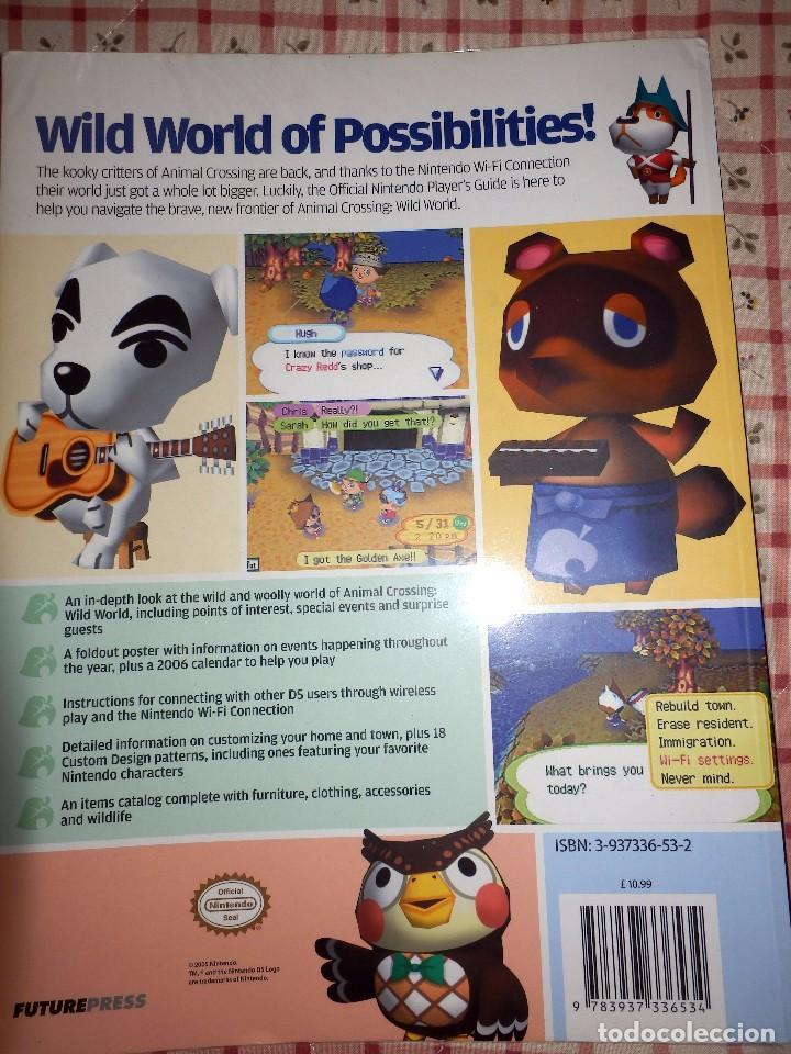 Videojuegos y Consolas: Guia de juego oficial Animal Crossing Wild Word - Foto 2 - 92175430