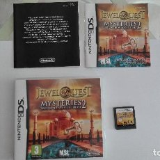 Videojuegos y Consolas: JEWEL QUEST MISTERIES2 TRAIL OF THE MIDNIGHT HEART NINTENDO DS VERSION INGLESA. Lote 94925939