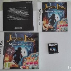 Videojuegos y Consolas: JEWEL LINK MYSTERIES MOUNTAINS OF MADNESS NINTENDO DS VERSION INGLESA. Lote 94926027
