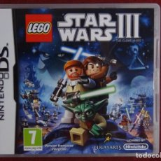Videojuegos y Consolas: JUEGO NINTENDO DS - STARS WARS III. Lote 95407755