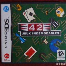 Videojuegos y Consolas: JUEGO NINTENDO DS - 42 JUEGOS CLÁSICOS. Lote 95407919