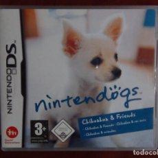 Videojuegos y Consolas: JUEGO NINTENDO DS - NITENDOGS. Lote 95408027