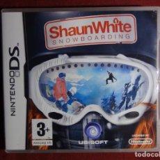 Videojuegos y Consolas: JUEGO NINTENDO DS - SHAUNWHITE SNOWBOARDING. Lote 95408203