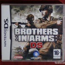 Videojuegos y Consolas: JUEGO NINTENDO DS - BROTHERS IN ARMS. Lote 95413067