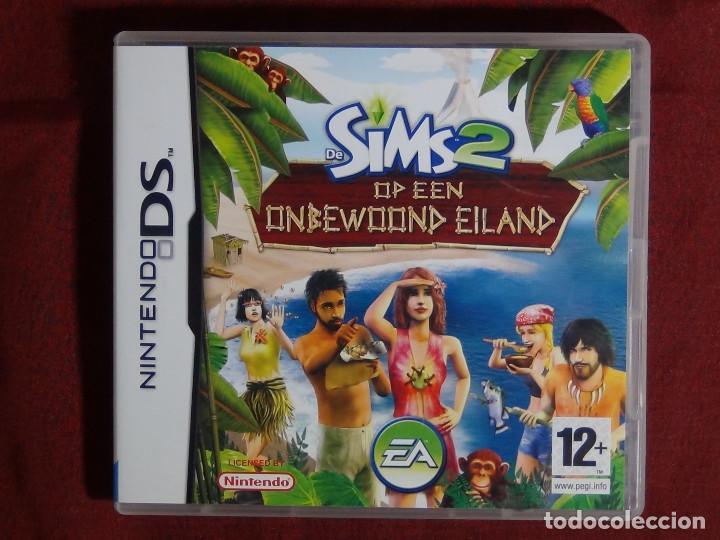 Juego Nintendo Ds Los Sims 2 Naufragos Comprar Videojuegos Y