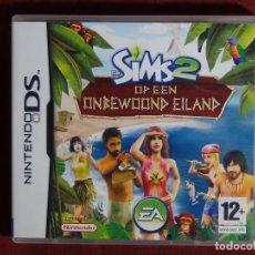 Videojuegos y Consolas: JUEGO NINTENDO DS -LOS SIMS 2: NAUFRAGOS. Lote 95413687
