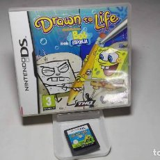 Videojuegos y Consolas: BOB ESPONJA - DRAWN TO LIFE ( NINTENDO DS - 3DS) CJ 3. Lote 95672487