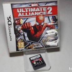 Videojuegos y Consolas: MARVEL ULTIMATE ALLIANCE 2 ( NINTENDO DS - 3DS) CJ 3. Lote 95672583