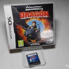 Videojuegos y Consolas: COMO ENTRENAR A TU DRAGON ( NINTENDO DS - 3DS) CJ 3. Lote 95672671