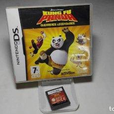 Videojuegos y Consolas: KUNG FU PANDA - GUERREROS LEGENDARIOS ( NINTENDO DS - 3DS) CJ 3. Lote 95672699