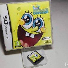 Videojuegos y Consolas: BOB ESPONJA - ATRAPADOS EN EL CONGELADOR ( NINTENDO DS - 3DS) CJ 5. Lote 95731095