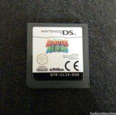 Videojuegos y Consolas: JUEGO NINTENDO DS MONSTERS VS ALIENS. Lote 96839848